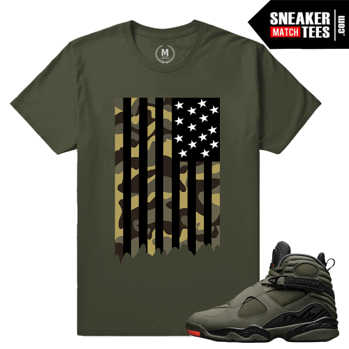 Sneaker Shirts Match Jordan 8 Take Flight