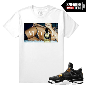 Sneaker Tees Matching Royalty 4 Jordan Retros