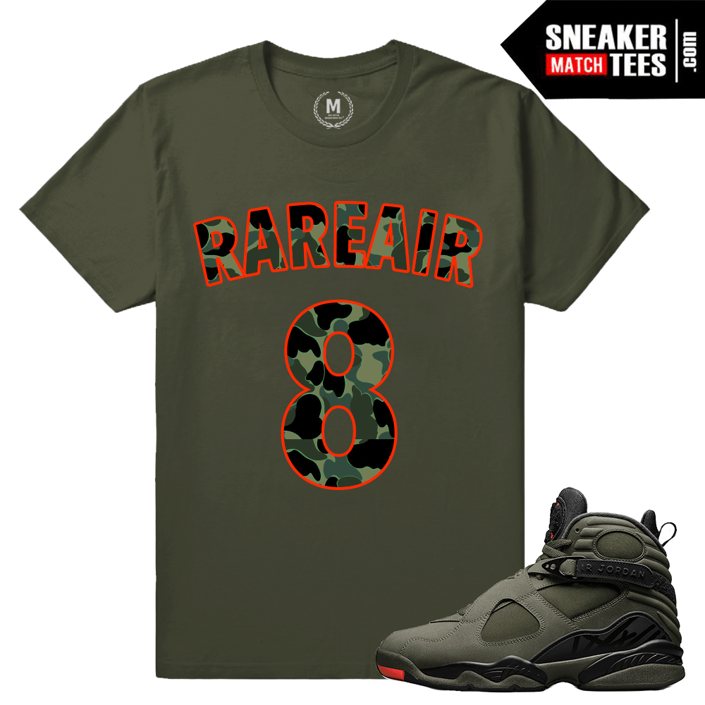 Sneaker T shirts matching Jordan 8 Take Flight