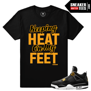 T shirt Matching Jordan 4 Royalty