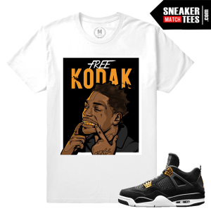 Tee Shirt Match Jordan 4 Royalty