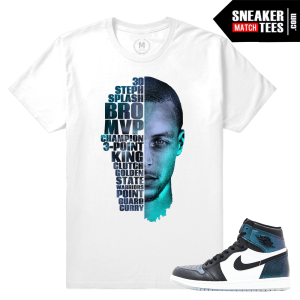 Air Jordan 1 Chameleon All Star T shirt
