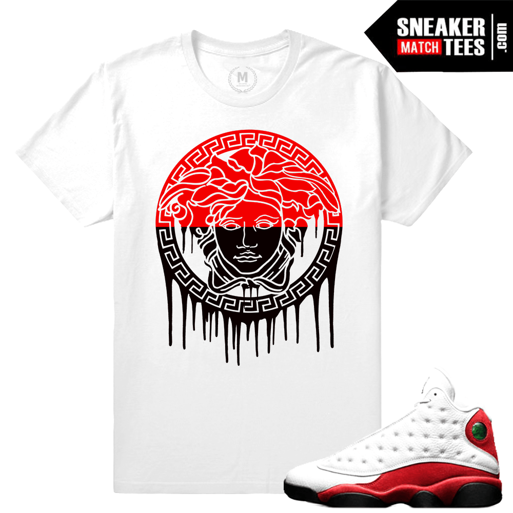 Air Jordan 13 Cherry T shirt Match