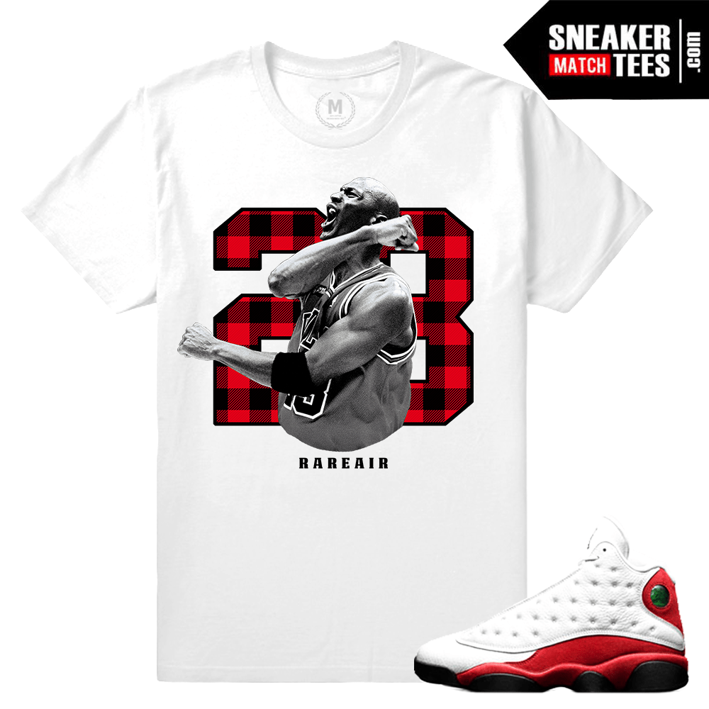 Air Jordan 13 Chicago Cherry Match T shirt