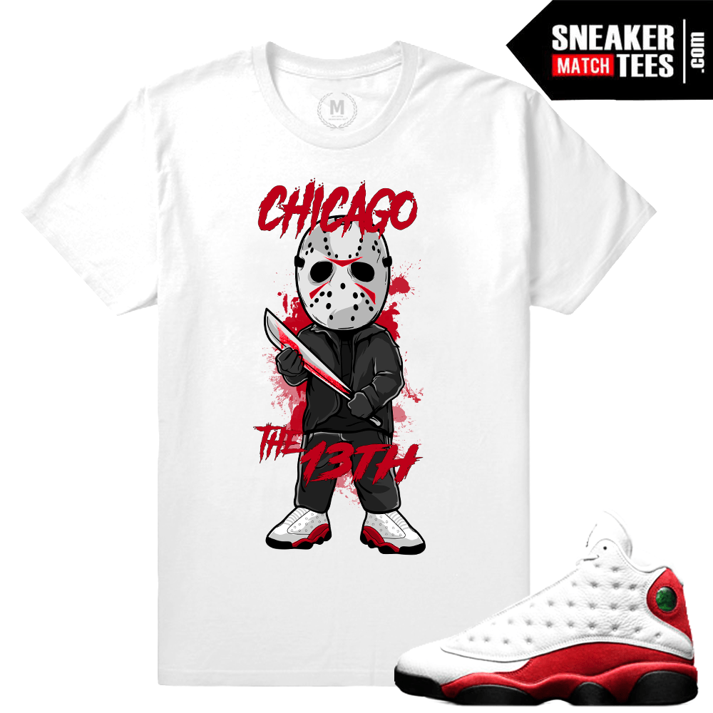 Air Jordan 13 Chicago Matching Tee shirt