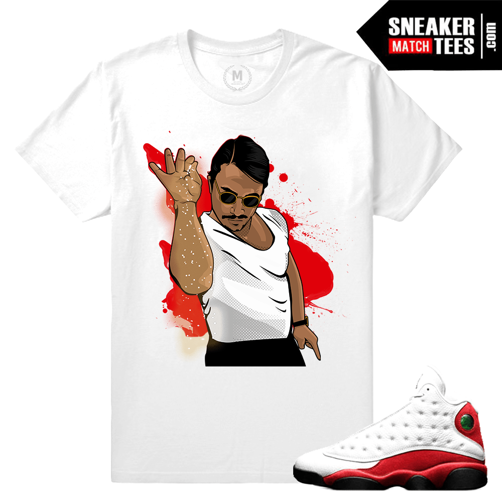 Air Jordan 13 Chicago t shirt