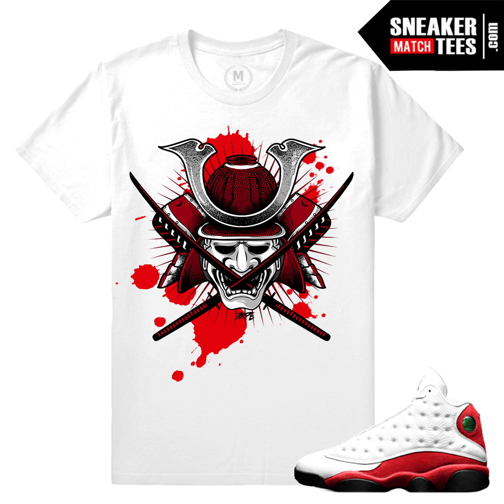 Air Jordan 13 Chicago tee shirt