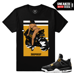 Air Jordan Royalty 4s Match Sneaker tees
