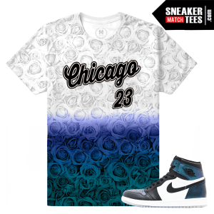 Jordan 1 Chameleon All Star Matching T shirt