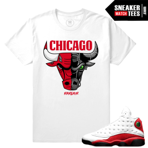 Jordan 13 Chicago T shirt