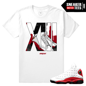 Jordan XIII Chicago Matching t shirts
