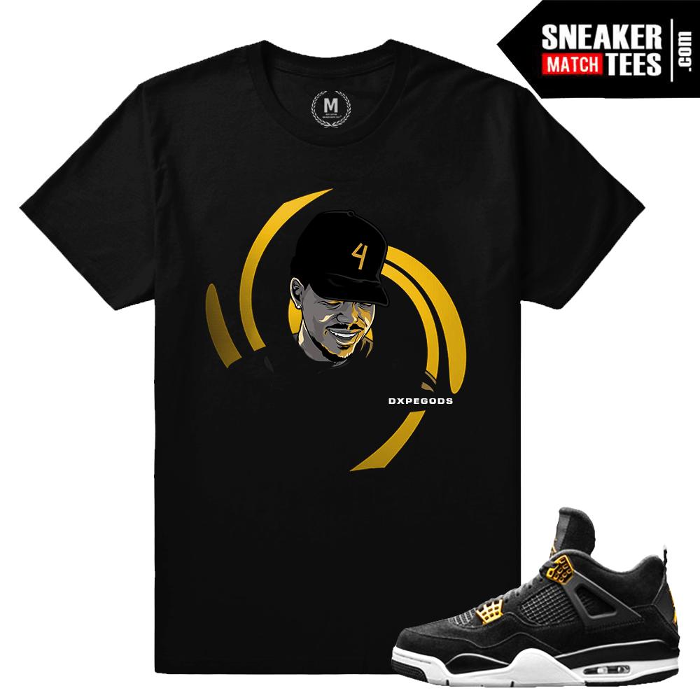 best website c6267 ad748 Royalty 4s matching t shirt Jordans | Sneaker Match Tees