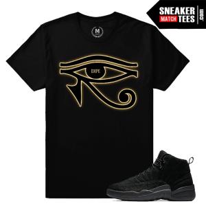Sneaker match Shirt OVO 12 Black
