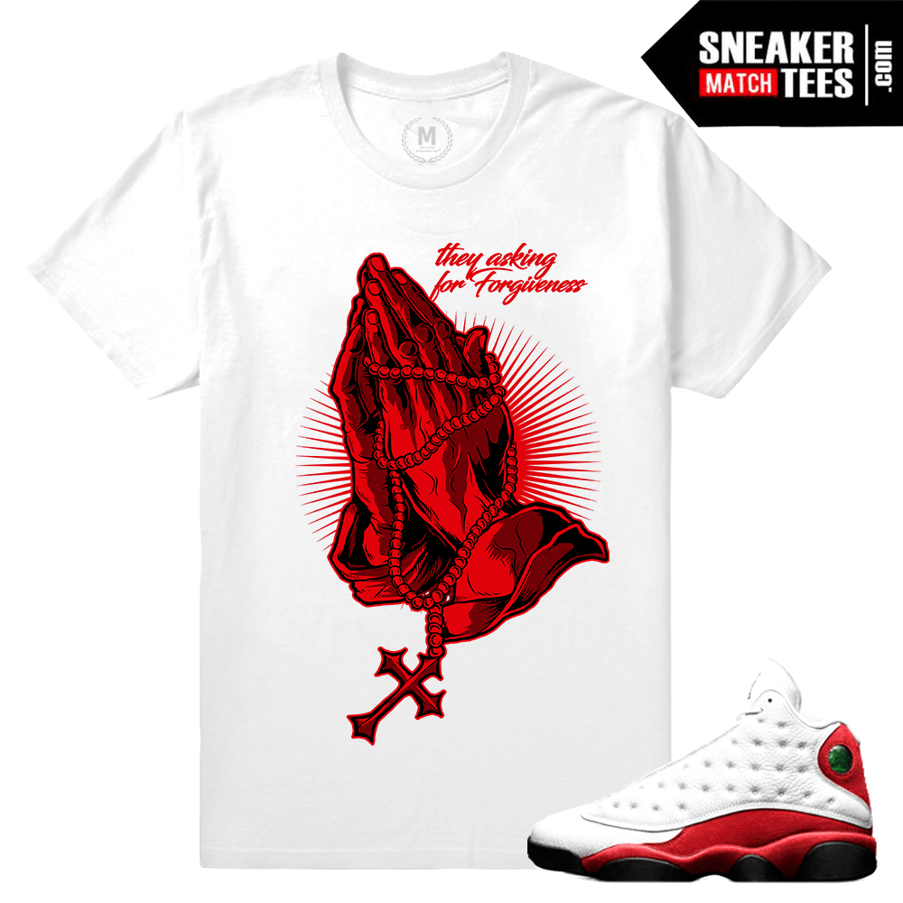 Sneaker tee shirt Chicago 13 Jordan