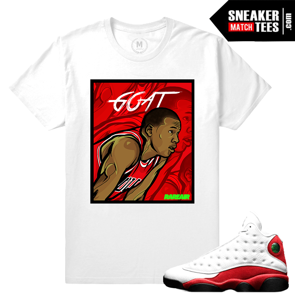 Sneaker tees Match Air Jordan 13 Chicago