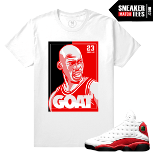Tee Shirt Match Chicago 13 Jordan Retro