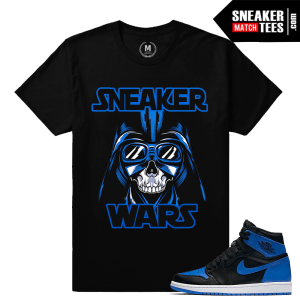 Air Jordan 1 Royal T shirts
