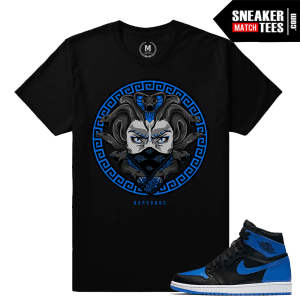 Air Jordan 1 Sneaker tee Match Royal 1