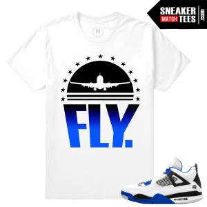 Air Jordan 4 Motorsports matching tee shirt