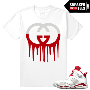Air Jordan 6 Alternate matching tee shirt