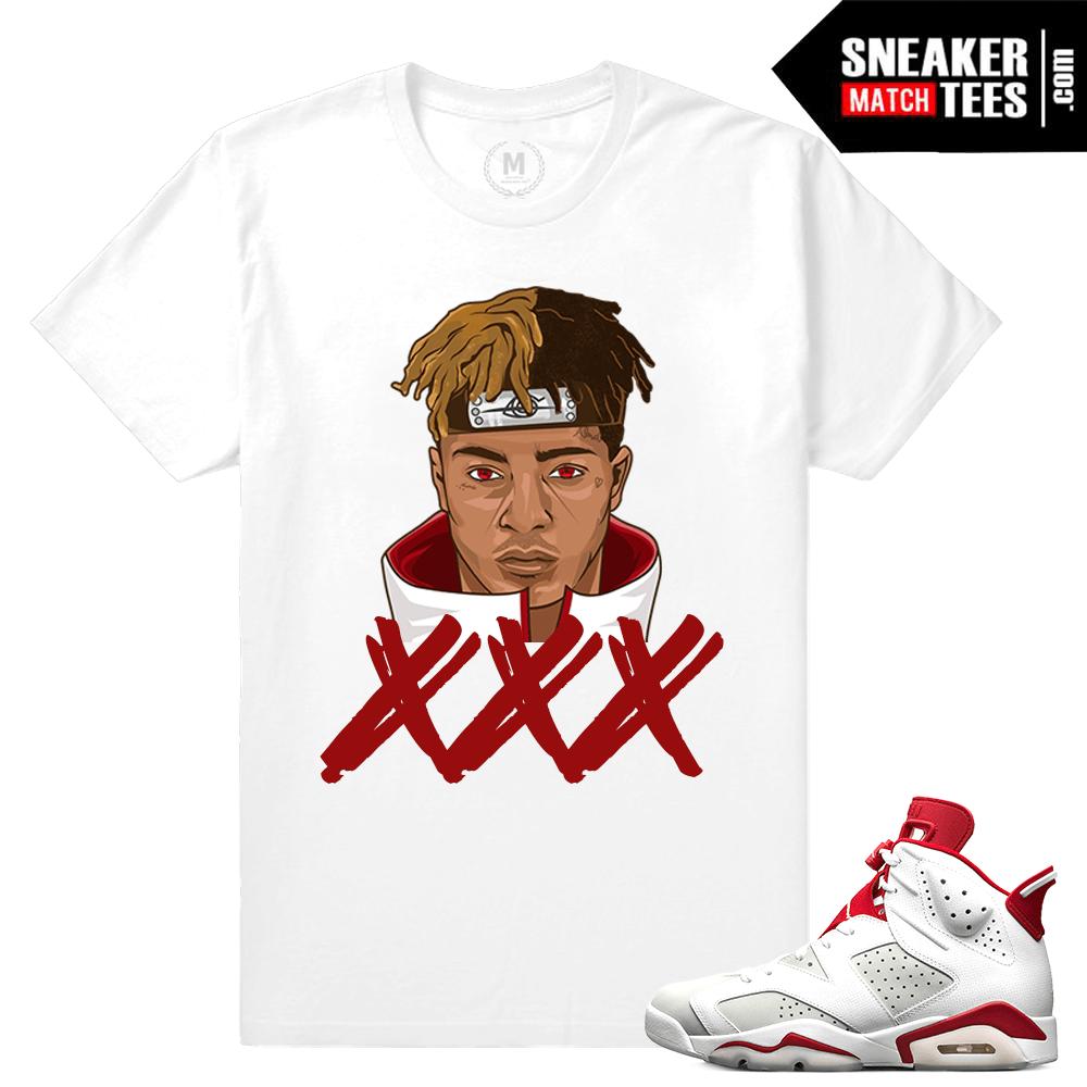 fcd4a071 Alternate 6s Match xxxTentacion t shirt | Sneaker Match Tees