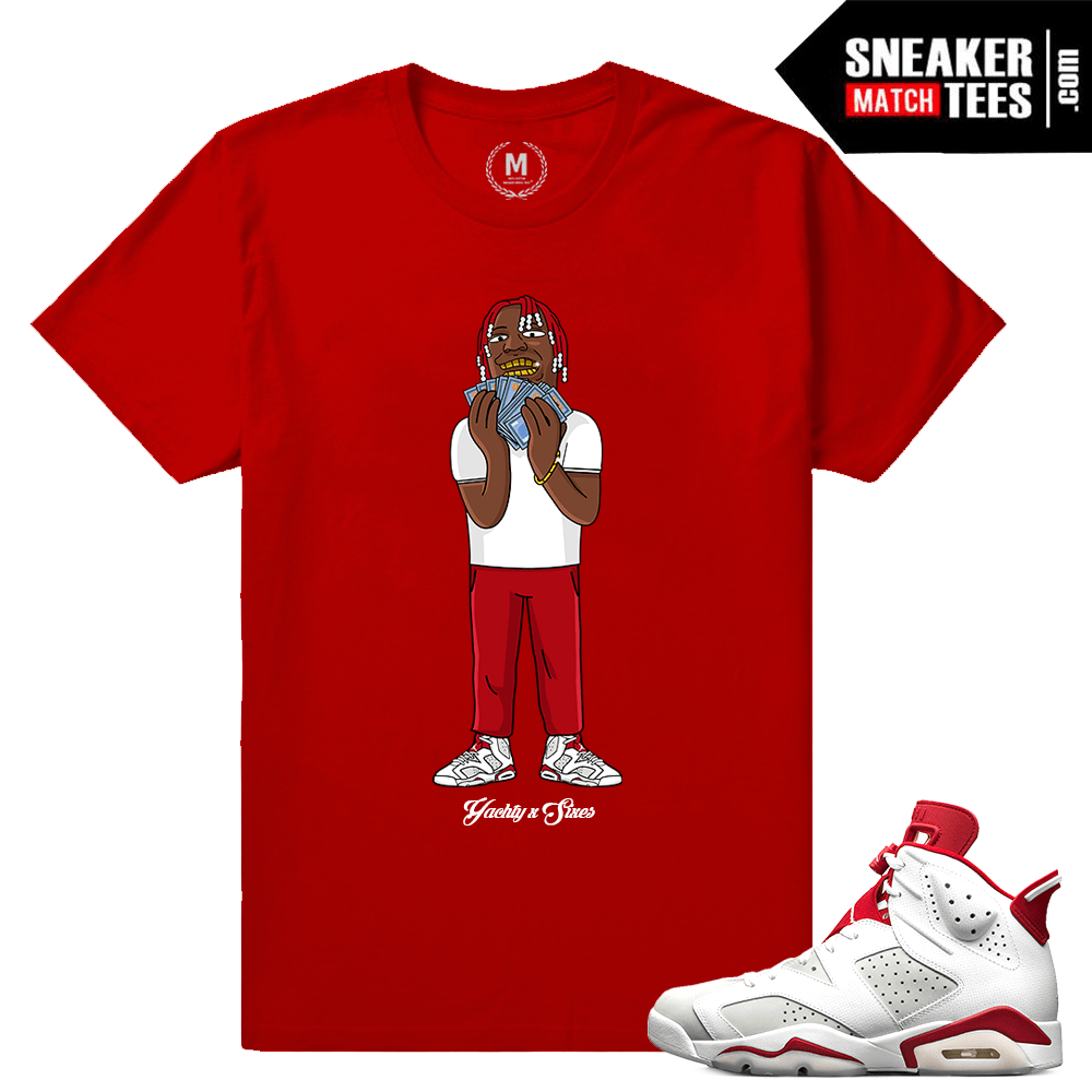 Alternate 6s T shirt Lil Yachty