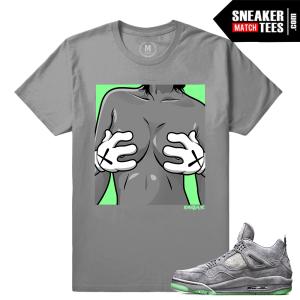 Kaws Jordan 4 Sneaker tees