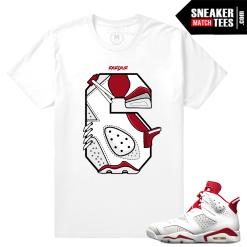 Match T shirt Jordan 6 Alternate