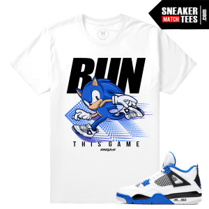 Match Tee shirt Jordan 4 Motorsport