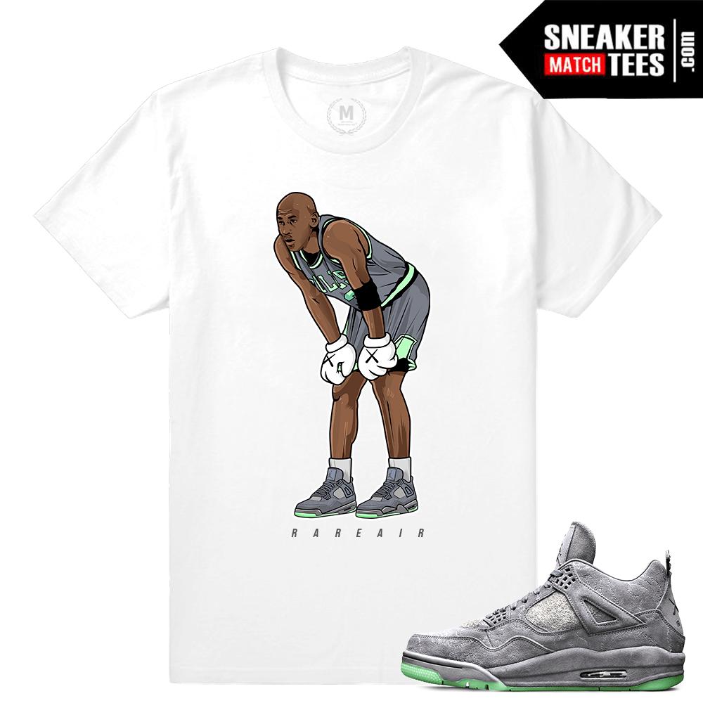 d4abe4926be346 Sneaker T shirts Air Jordan 4 Kaws
