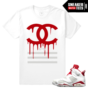 Sneaker tees Alternate 6s