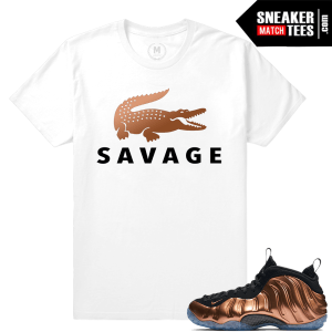 Copper Foamposite matching tees