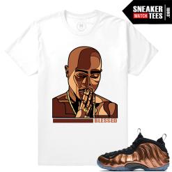 Copper Foams Match Sneakers T shirt
