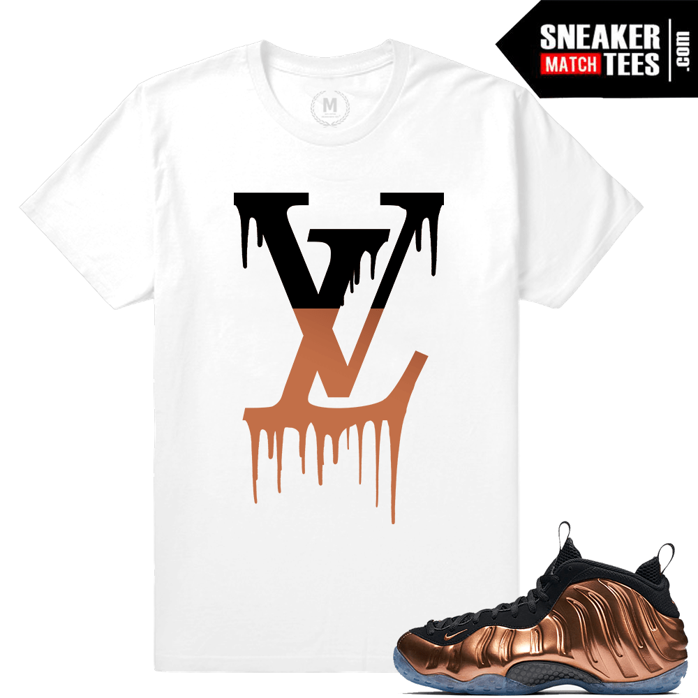 huge selection of daec3 0a205 Copper Foams Matching Sneaker tee shirt
