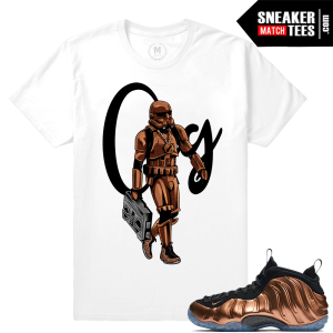 Copper Foams Matching t shirts