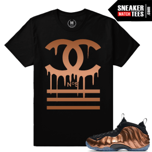 Copper Foams tee shirt Matching