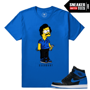 Jordan 1 Royal OG Sneaker shirt tee