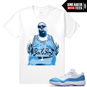 Jordan 11 UNC low Matching tees