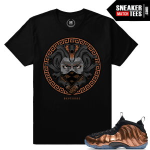 Matching T shirts Copper Foams