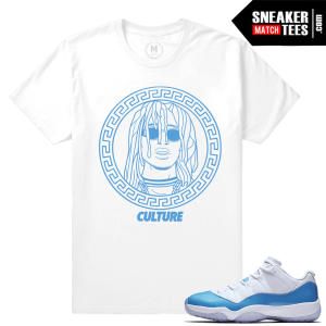 Shirts Matching Air Jordan 11 UNC lows