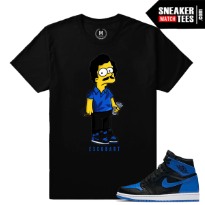 Shirts Matching OG Royal 1 sneakers