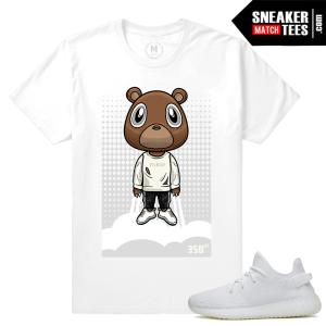 Shirts Yeezy Boost White Creme 350 v2