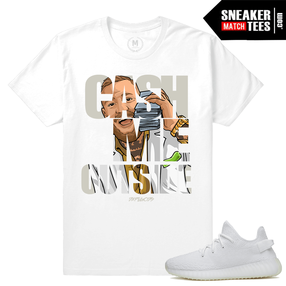 eacc7c8f85e Shirts Yeezy boost 350 Triple White | Sneaker Match Tees