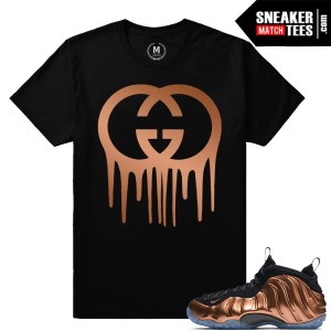 T shirt Copper Nike Foams