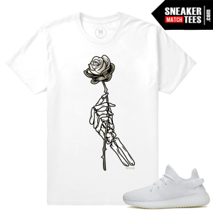 White Cream Yeezy Boost T shirts