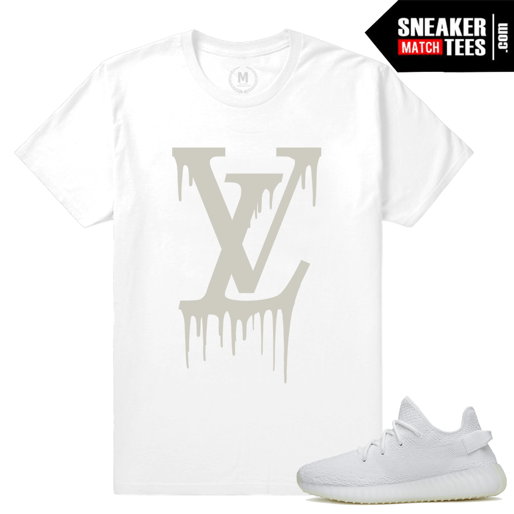 Yeezy Boost 350 White T shirt