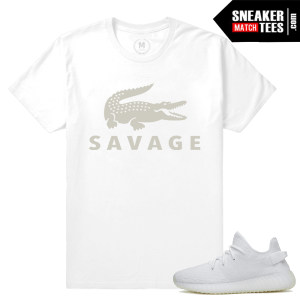 Yeezy Boost All White T shirts