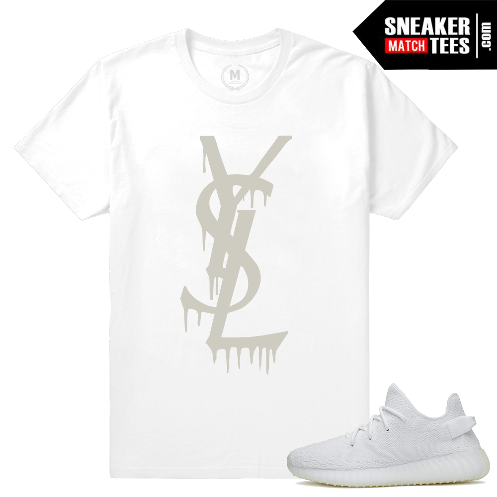 Yeezy Boost T shirt Match White Cream