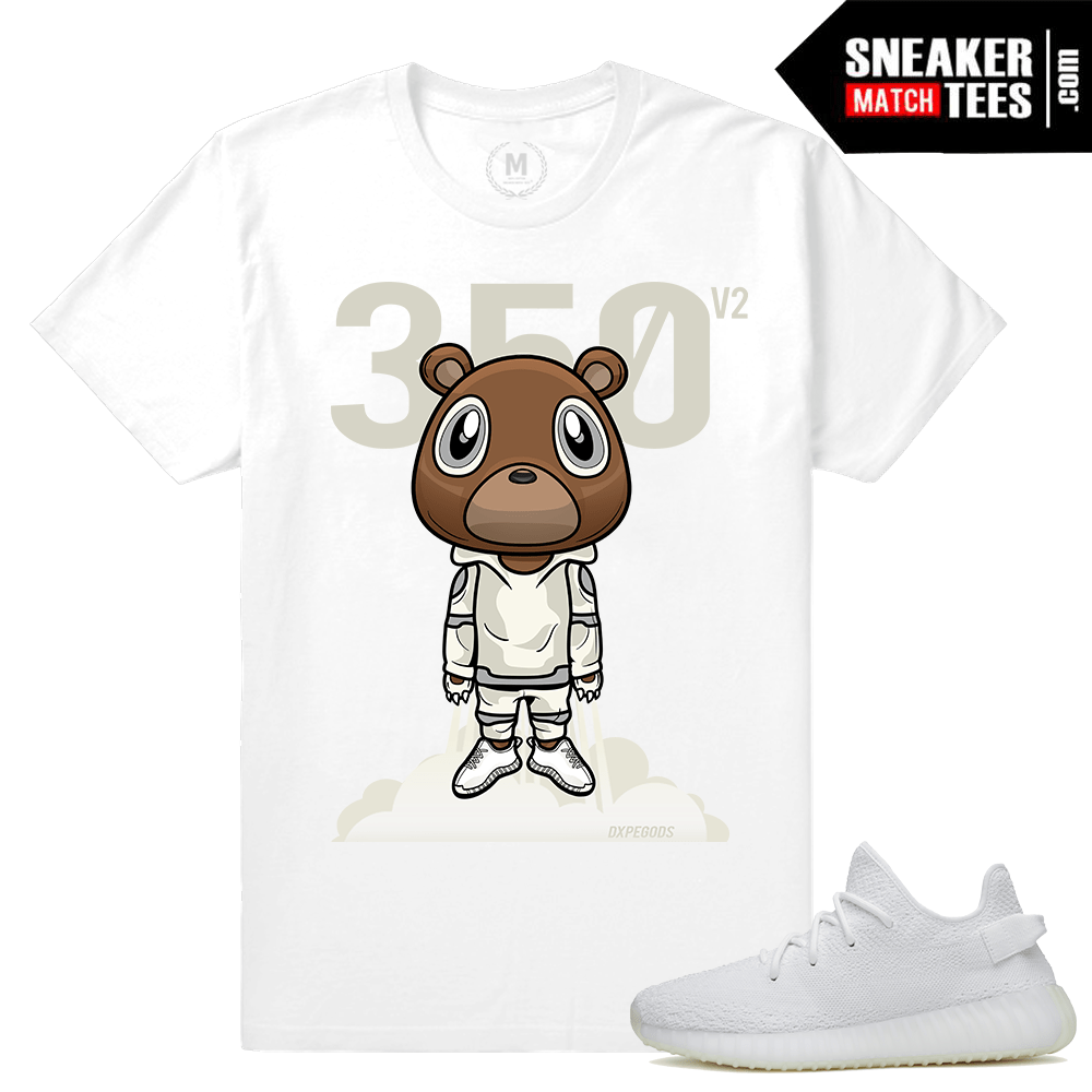 Yeezy Boost White Cream T shirts