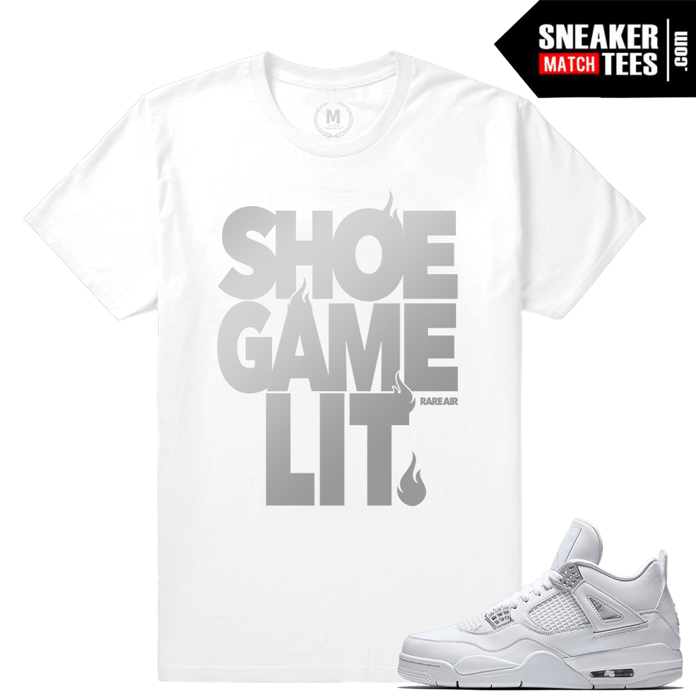 Air Jordan 4 Pure Money Tee Shirt